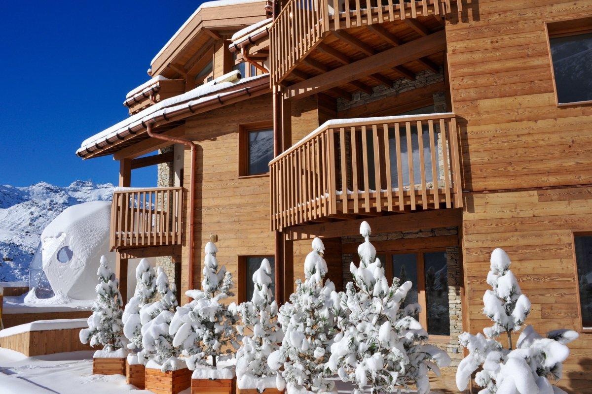 Le Refuge Megeve Architecte hotel pashmina le refuge val thorens - alpinebooker