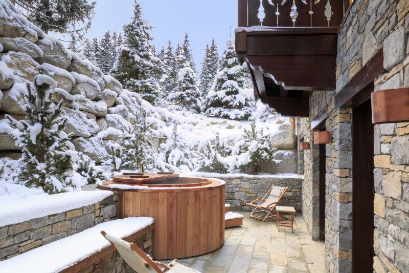 Luxury hotels in Courchevel 1850